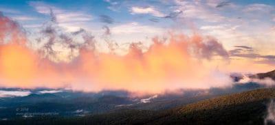 Blue Ridge on Fire