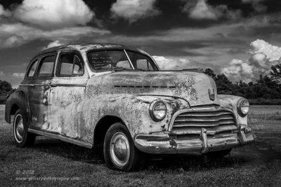 Chevy Sedan BW