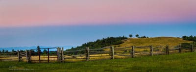 """""""Twilight Wedge"""",  Canon 5D Mk3, 70-200mm f/2.8L Mk2, No filters, multi-image pano stitched in Lightroom"""