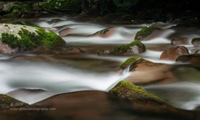 Mountain Stream Abstract
