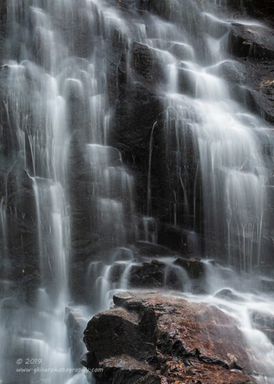 """Ghostly Cascades"",  Canon 5D Mk3, 70-200mm f/2.8L Mk2, Singh-Ray Color Combo Polarizer"