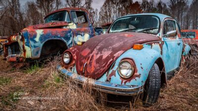"""""""Baby Blue Beetle"""",   Canon 5D Mk3, 24-70mm f/2.8L Mk2, Singh-Ray Color Combo Polarizer"""