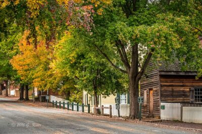 """Autumn in Old Salem"",   Canon 5D Mk3, 24-70mm f/2.8L Mk2, Singh-Ray Color Combo Polarizer"