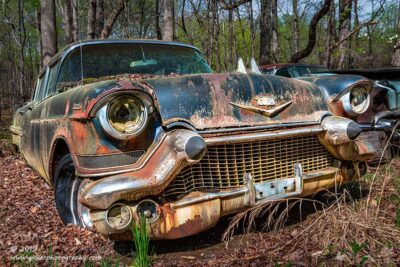 """Cadillac Bullets"",   Canon 5D Mk3, 24-70mm f/2.8L Mk2, Singh-Ray Color Combo Polarizer"