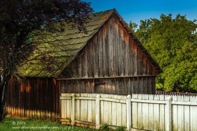 """""""The White Fence"""",   Canon 5D Mk3, 24-70mm f/2.8L Mk2, Singh-Ray Color Combo Polarizer"""