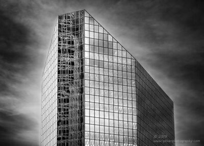 """Constantly Reflecting"",   Canon 5D Mk3, 70-200mm f/2.8L Mk2, Singh-Ray Color Combo Polarizer, Converted to B&W in Lightroom"