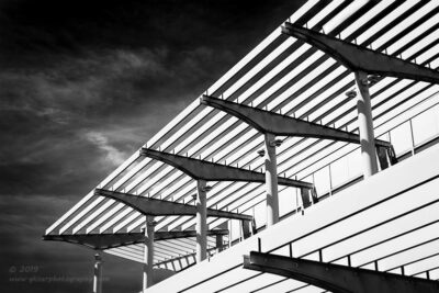 """Modern Geometry"",   Canon 5D Mk3, 24-70mm f/2.8L Mk2, Converted to B&W in Lightroom"