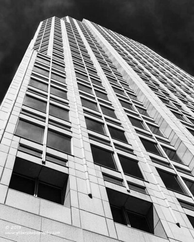 """""""Recessed Windows"""",   Canon 5D Mk3, 24-70mm f/2.8L Mk2, Converted to B&W in Lightroom"""