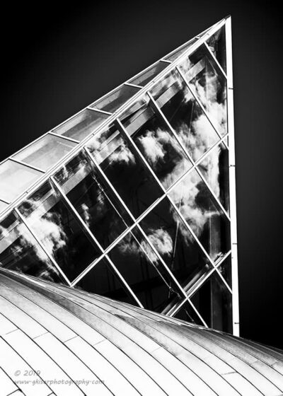 """""""Cloud Cage"""",   Canon 5D Mk3, 70-200mm f/2.8L Mk2, Singh-Ray Color Combo Polarizer, Converted to B&W in Lightroom"""