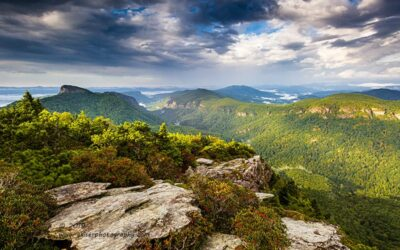 """""""Overlooking Linville"""",   Canon 5D Mk3, 16-35mm f/2.8L Mk2, Singh-Ray Galen Rowell 2-stop hard edge ND Grad"""