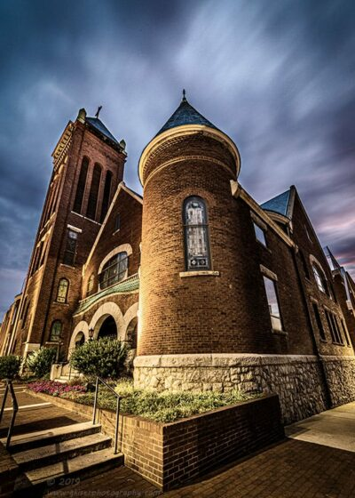 """""""Steeple in the Storm"""",   Canon 5D Mk3, Rokinon 14mm f/2.8, No filters"""