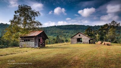 """Bailing Out the Barn"",   Canon 5D Mk3, 24-70mm f/2.8L Mk2, Singh-Ray Color Combo Polarizer, Galen Rowell 2-stop soft edge ND Grad"