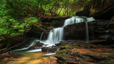 """Lemon Falls"",   Canon 5D Mk3, 16-35mm f/2.8L Mk2, Singh Ray Color Combo Polarizer"