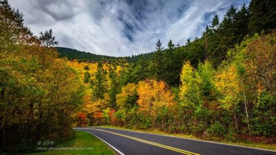 """""""The Way of Autumn"""",   Canon 5D Mk3, 16-35mm f/2.8L Mk2, Singh-Ray Color Combo Polarizer, Galen Rowell 2-stop soft edge ND Grad"""