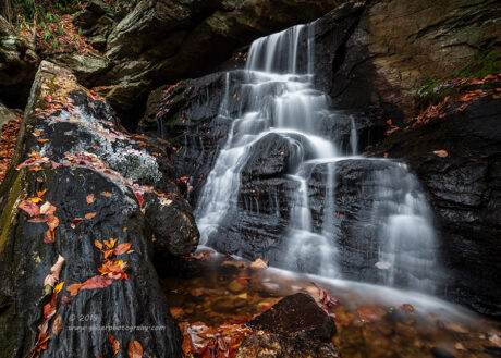"""Crystals and Cascades"",   Canon 5D Mk3, 16-35mm f/2.8L Mk2, Singh-Ray Color Combo Polarizer, Mor Slo 5-stop ND Filter"