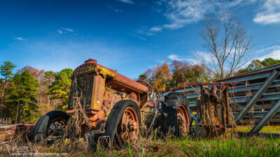 """Proud Fordson"",   Canon 5D Mk3, 24-70mm f/2.8L Mk2, Singh-Ray Color Combo Polarizer, Galen Rowell 2-stop soft edge ND Grad"