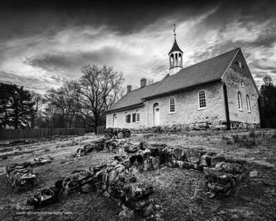 """Ruins and Worship"",   Canon 5D Mk3, 16-35mm f/2.8L Mk2, Singh-Ray Galen Rowell, 3-stop soft ND Grad, Converted to B&W in Lightroom"