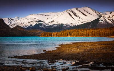 """Alaskan Spring"",   Canon 40D, 24-70mm f/2.8L Mk1, B+W KMC Polarizer, Singh-Ray Galen Rowell 2-stop soft edge ND Grad"