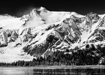 """Mountain Gradeur"",   Canon 40D, 70-200mm f/4L, No filters, Converted to B&W in Lightroom"