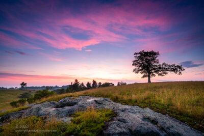 """Sunrise Over Doughton"",   Canon 5D Mk3, 16-35mm f/2.8L Mk2, Singh-Ray Daryl Benson 3-Stop Reverse Grad"