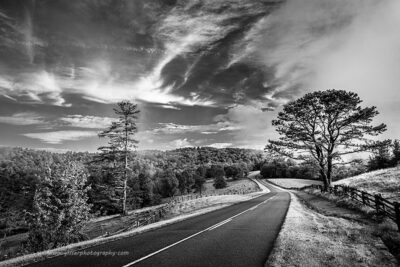 """Paving Paradise"",   Canon 5D Mk3, 16-35mm f/2.8L Mk2, Singh-Ray Color Combo Polarizer, Converted to B&W in Lightroom"