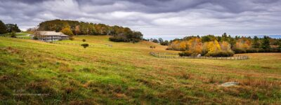 """""""Bluffs Lodge"""",   Canon 5D Mk3, 70-200mm f/2.8L Mk2, No filters, 11 image panorama stitched in Lightroom"""