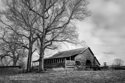 """""""Keepers of the Barn"""",   Canon 5DS R, 24-70mm f/2.8L Mk2, Singh-Ray Color Combo Polarizer, Converted to B&W in Lightroom"""