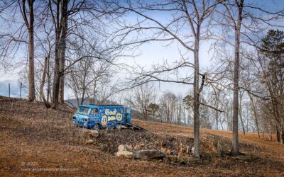 """""""The Billy Bus"""",   Canon 5DS R, 70-200mm f/28L Mk2, Singh-Ray Color Combo Polarizer, Galen Rowell 2-stop soft ND Grad"""
