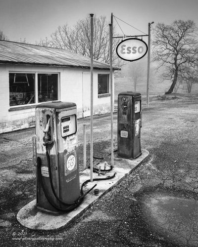 """""""Fueling Memories"""",   Canon 5DS R, 16-35mm f/2.8L Mk2, No Filters, Converted to B&W in Lightroom"""