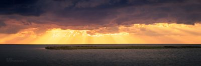 """""""Heavens Shining Down"""",   Canon 5DS R, 70-200mm f/2.8L Mk 2, 9 image pano in Lightroom"""