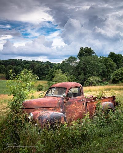 """""""Studebaker Storm"""",   Canon 5DSR, 16-35mm f/2.8L Mk2, Singh-Ray Color Combo Polarizer, Galen Rowell 3-stop soft ND Grad"""