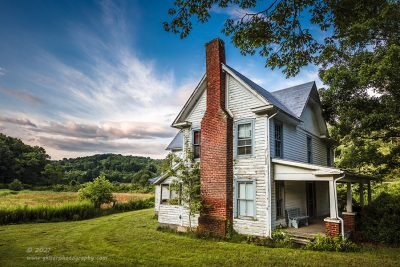 """""""House at Doughton"""",   Canon 5DS R, 16-35mm f/2.8L Mk2, Singh-Ray Galen Rowell 3-stop soft ND Grad"""